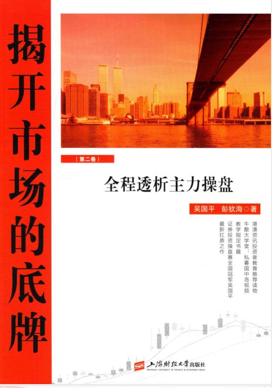 揭开市场的底牌 全程透析主力操盘 第2卷 PDF